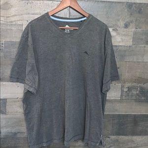 Gray Tommy Bahama T-Shirt